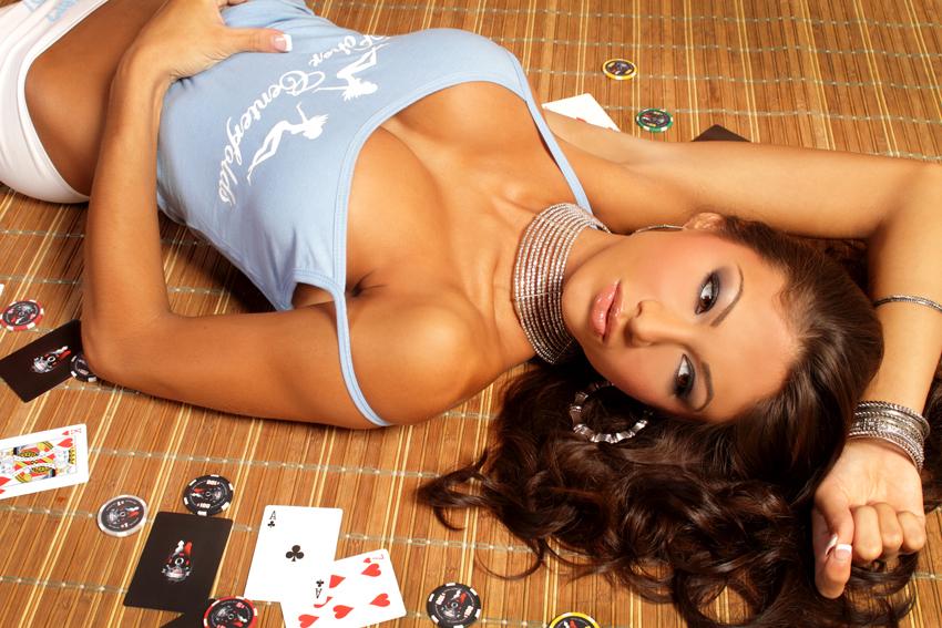 Janet Layug Poker Centerfolds
