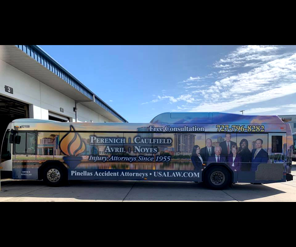 PSTA Bus wrap Portrait